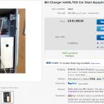 Bill Changer Hamilton Car Wash Equiptment Laundry Bill Validator   eBay