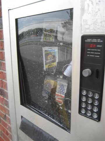 dilling harris vending machine